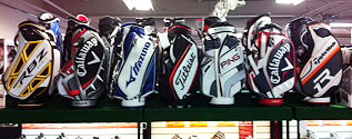 Here at Fairwaygolfusa.com, we are able to supply a large selection of staff bags. Everything from Fourteen Golf to Taylormade RBZ Staff Bags! We have many rare and unique staff...
