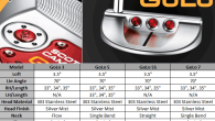Make your own custom putter with Scotty Cameron 2014 GoLo Series Putters Through the Custom Shop program, you can get your initials, customize paint color and/or choose the grip and headcover of your choice on the 2014 GoLo Putters. Create your own from the link below: http://www.fairwaygolfusa.com/index.php?main_page=index&cPath=400
